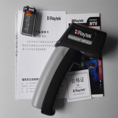 Free shipping sales promotion 10%off  Hotsale industrial use infrared thermometer raytek mt6 up to 500C  пирометр raytek st 25