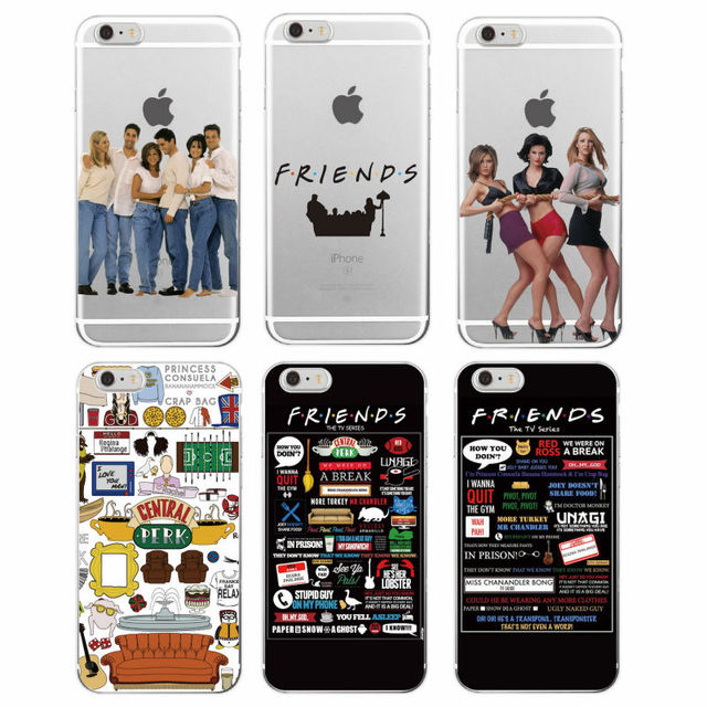 Friends TV Show Soft Phone Case Cover For iPhone 7Plus 7 6 6S 6Plus 5 5S SE 5C 4 4S