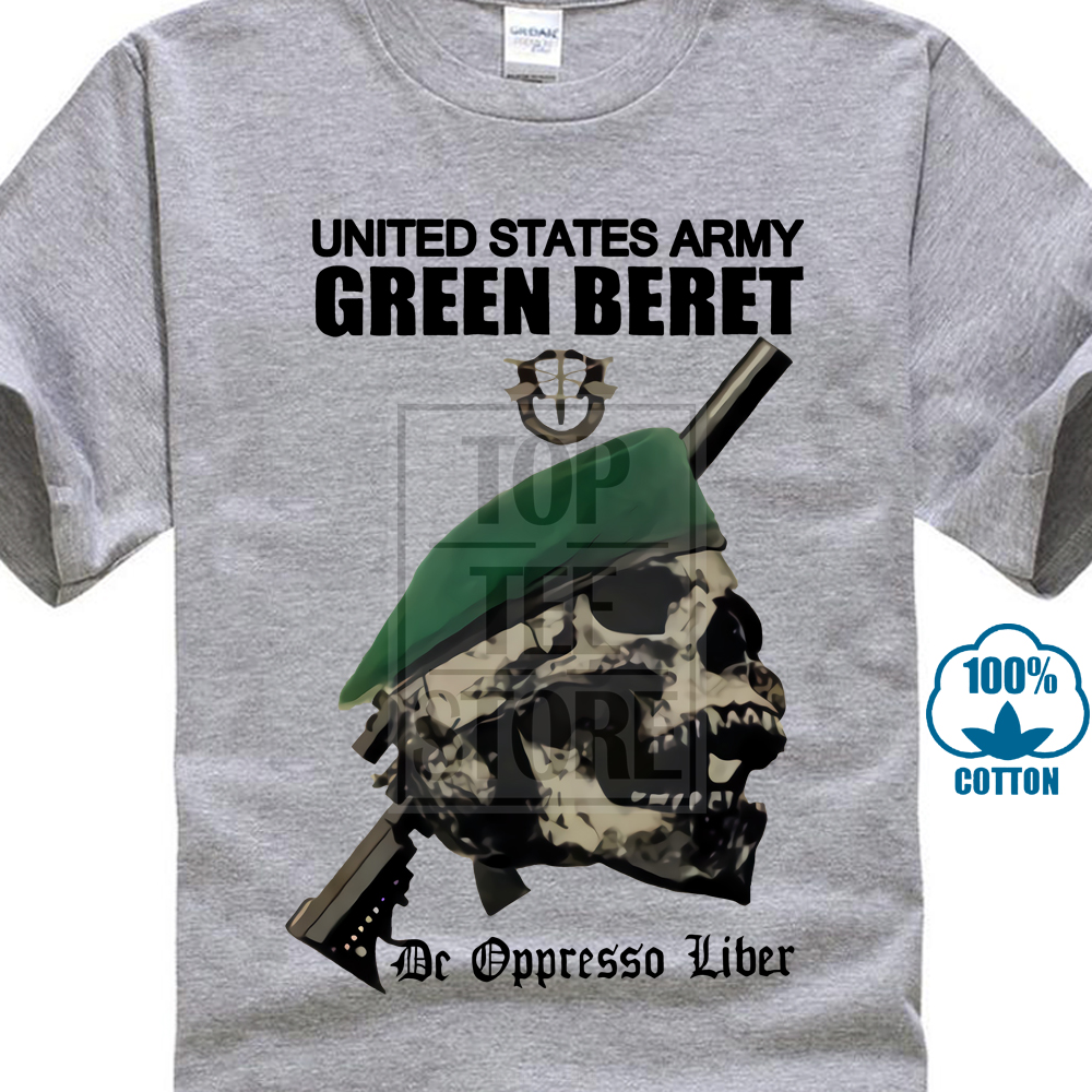 Us Army Special Forces Green Beret T Shirt De Oppresso Liber Armed Forces 10db4b409