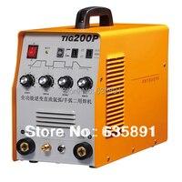 Super 200P TIG pulse welder argon welding machine pulse current maquina de solda