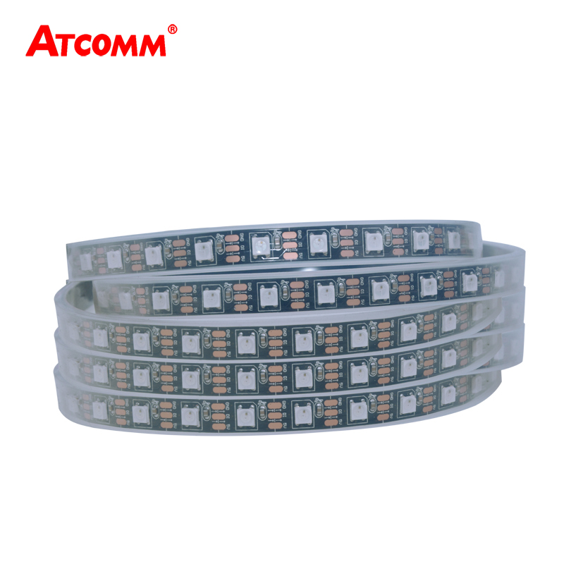 5V WS2812 LED Luz de tira de diodo 60 LEDs / m Impermeable IP33 IP65 - Iluminación LED