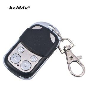 Image 1 - Kebidu 433MHZ אלחוטי מוסך שלט רחוק למידה קוד לשכפל מפתח Fob שיבוט שער מוסך דלת רכב שער מפתח