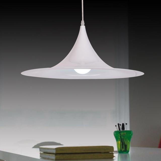 Modern Conical Pendant Light Aluminum Lampshade Home Lighting Hang Lamp Bar Cafe Nordic Led