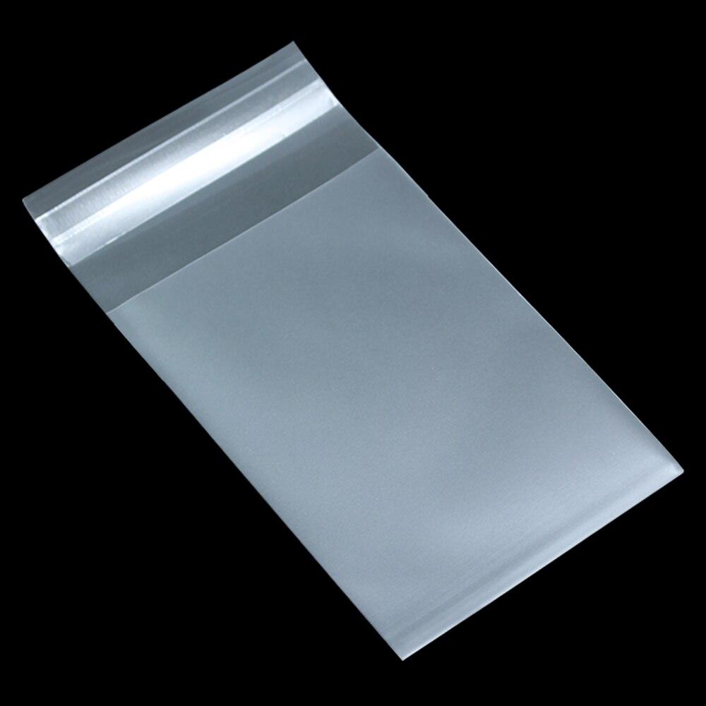 Sac en plastique Transparent Transparent mat de cadeau de joint auto adhésif de biscuit pour le paquet de gâteau de Biscuits de sucrerie de nourriture sacs givrés de Poly taille 8-in Sacs de stockage from Maison & Animalerie    1