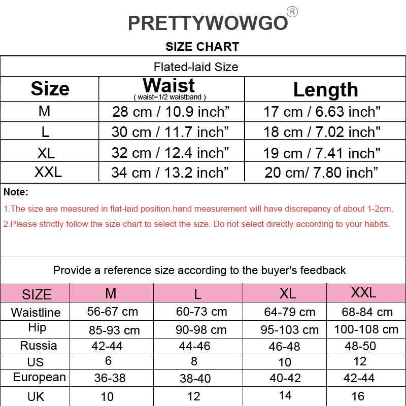 Prettywowgo gran oferta 2019 Tanga sin costuras mujer 11 colores de baja altura G String bragas sin costura ropa interior M L XL XXL 0220