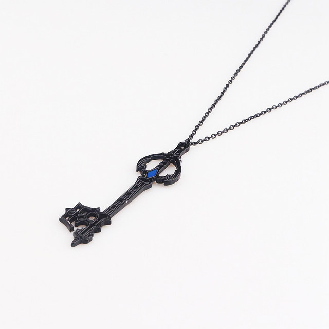 Online shop hot game kingdom hearts oblivion blade necklace black hot game kingdom hearts oblivion blade necklace black oathkeeper keyblade necklaces pendants jewelry accessories cosplay gift aloadofball Image collections