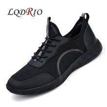 Для влюбленных модные повседневные мужские ботинки весна/осень легкий Zapatillas Deportivas Hombre Basket Femme плюс Размеры 46 47 48