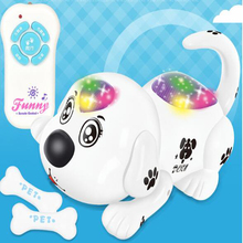 Wireless Remote Control Electric Toy Dog Crawling Electronic Pet RC Puppy Cute Animal RC Dog Remote Control Smart Dog Toy 2018 star wars toy e8 series deluxe smart robot r2 d2 interlighent inteligente model electronic toy rc remote control toy