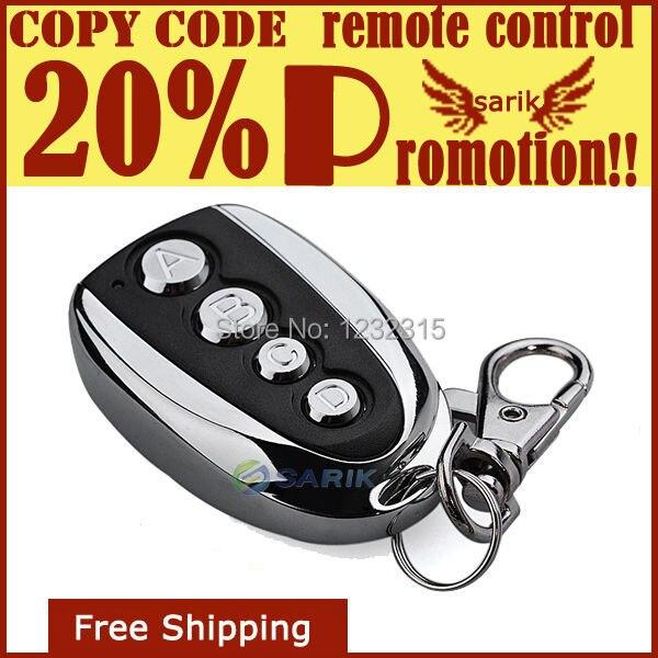 High Quality Garage Door Gatemechanics Remoted Control 433 Remote