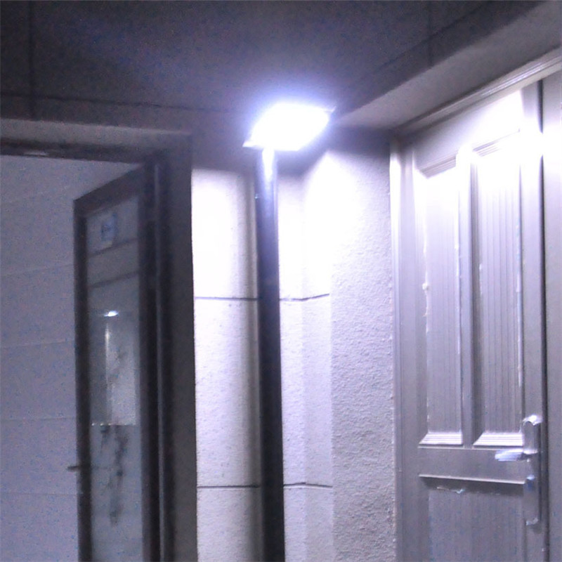 Sunlight Powered LED Solar Panel Street Wall Light Garden Outdoor Motion Sensor Lamp Waterproof Energy Saving Spotlight Garland