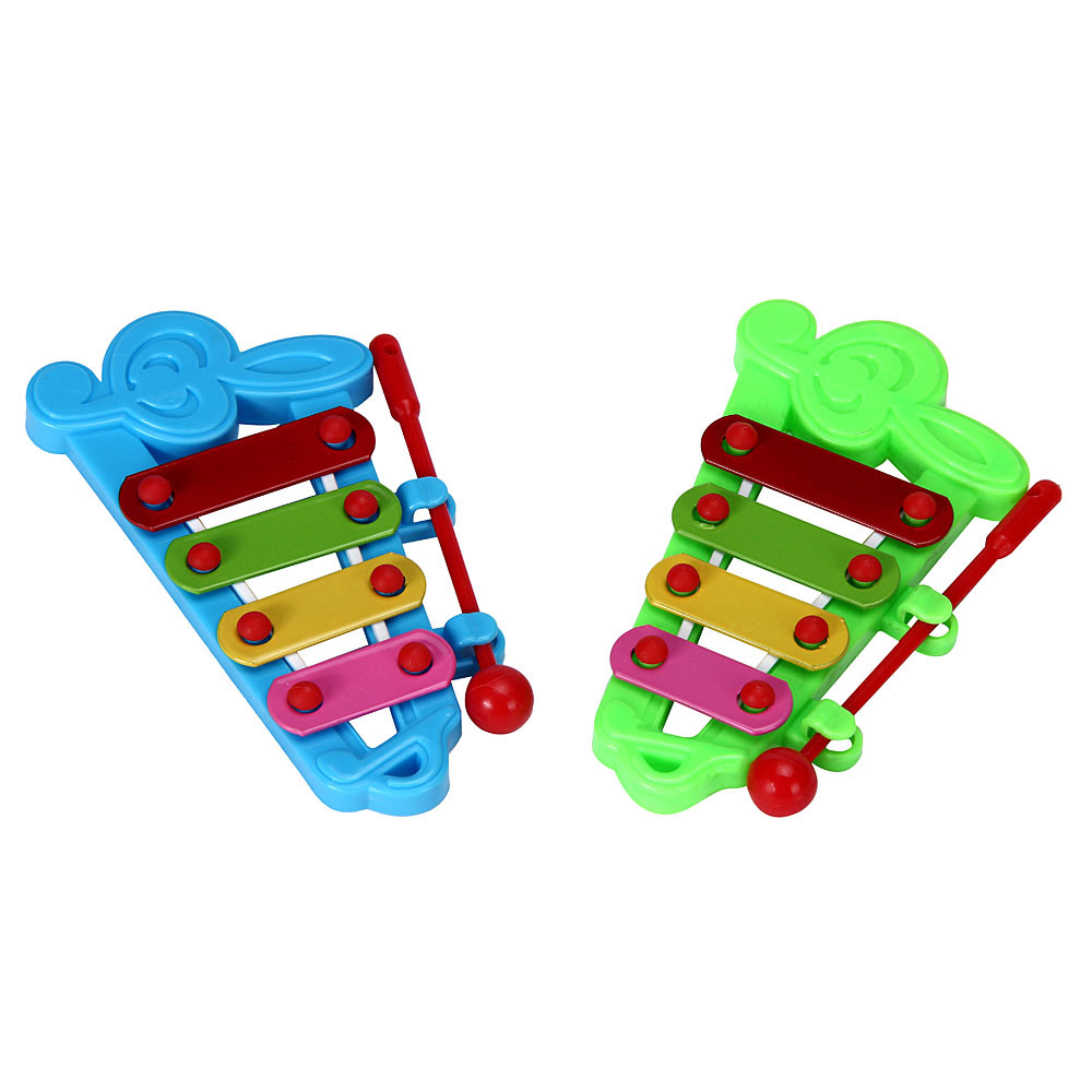 Funny Fantastic Baby Kids 4-Note Xylophone Musical Toys Wisdom Development Toy