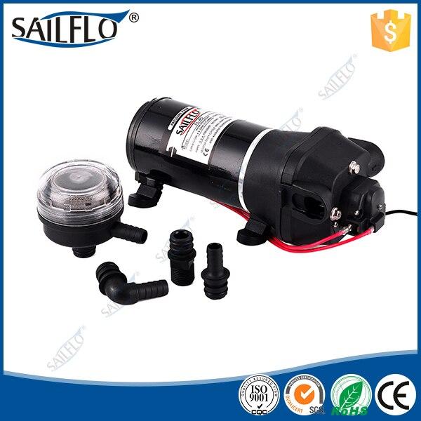 Sailflo FL-40 12v 17LPM 40psi demand pressure fresh diaphragm water pump for Marine/RV/Water heater все цены