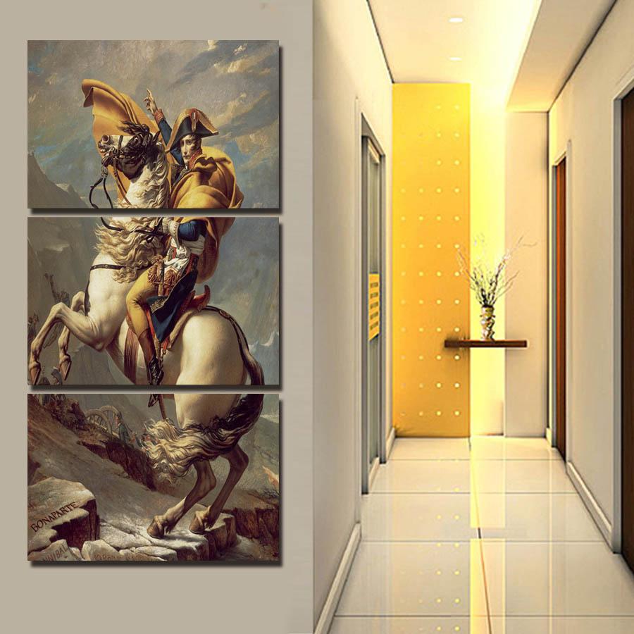 nuevo panel modern impreso caballo grande pintura imagen cuadros lienzo arte de la pared decoracin