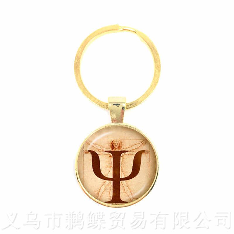 Yesus Gambar Seni Liontin Gantungan Kunci Agama Kubah Kaca Liontin Gantungan Kunci Hadiah Terbaik untuk Orang Kristen