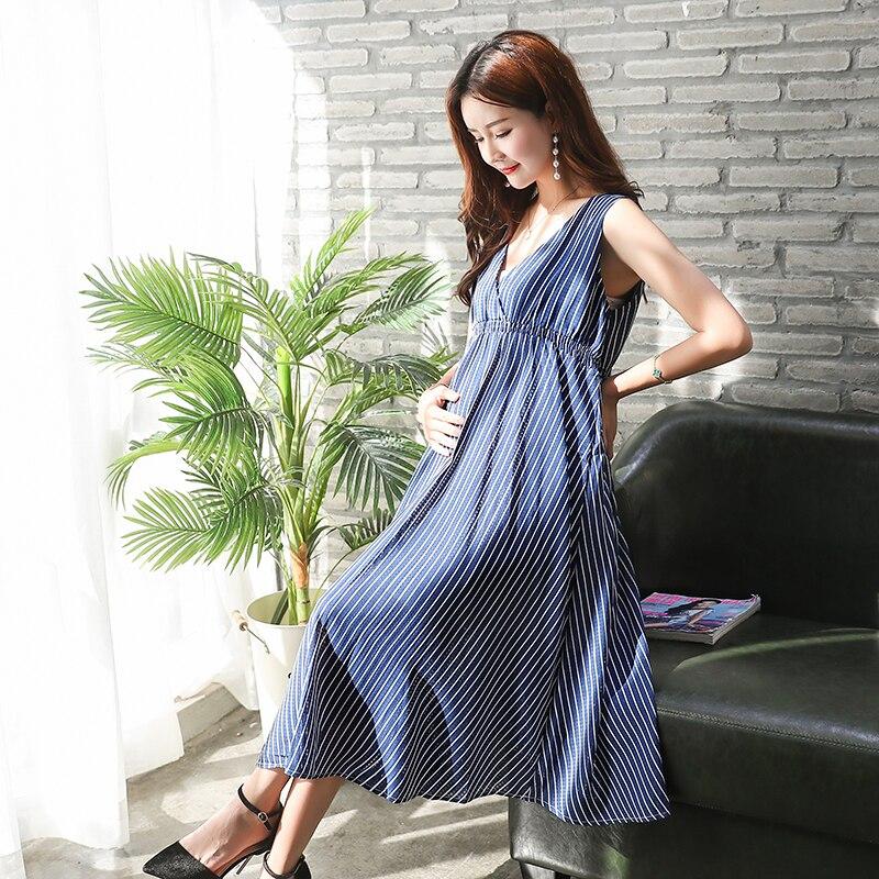 Летни дамски рокли за бременни жени в - Бременност и майчинство - Снимка 2