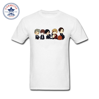 New Brand BTS Bangtan Boys Men Funny Tshirt Short Sleeve BTS Album Life Print Loose Shirts