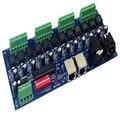 350MA * 12CH постоянный ток 12 каналов RJ45 DMX512 XRL 3P контроллер светодиодный декодер  диммер DC5V-36V для RGB Светодиодные полосы света лампы