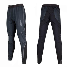 Outdoor Sports Wear Men Pants Bike Cycling Thermal Windproof Tights Trousers free shipping