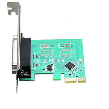 DB25 принтера Параллельный Порт LPT для PCI-E PCI Express Card Адаптер Конвертер Бесплатная Доставка Новый ЧМ чип