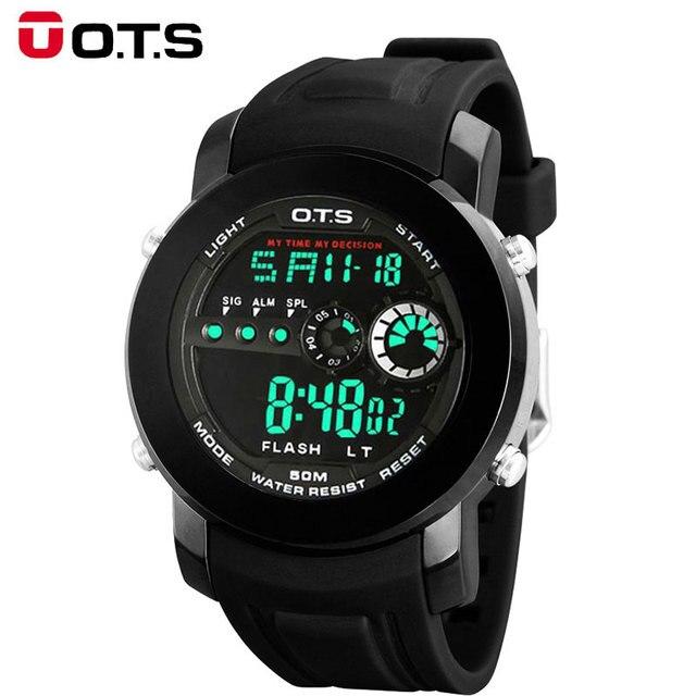 2017 Sport Reloj de Los Hombres de Primeras Marcas de Lujo Masculino Relojes LED Digital para Hombre Reloj Electrónico Reloj Digital de reloj Relogio Hodinky Masculino