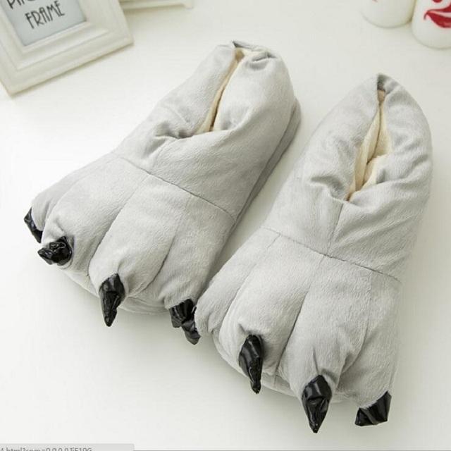 chaussons pattes à griffes