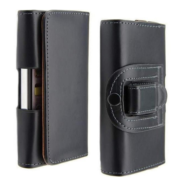 Belt Clip Holster PU Leather Mobile Phone Cases Pouch Smartphone For Samsung Galaxy Trend Lite S7390 S7572 GT-S7390 Cover