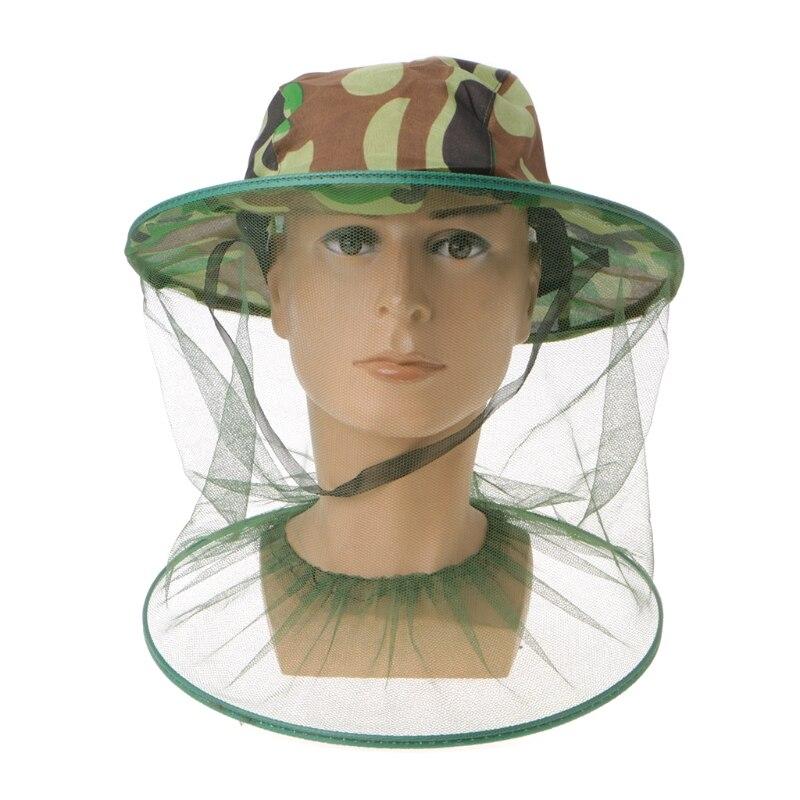 Mesh Gesicht Maske Hut Halten Insekten Bee Fliegen Gesicht-schutz Imker Angeln Sicherheit & Schutz