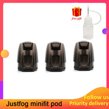3pcs/lot Original JUSTFOG Minifit Pod tank Electronic cigarette Accessory 3 Units each pack for JUSTFOG minifit Starter Kit(China)
