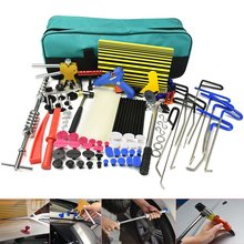 PDR tools Rod Hooks Dent Puller Hail Damage Repair Car Dent Removal slide hammer Paintless Dent Repair Tools Kit hand tools цена