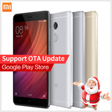Original Xiaomi Redmi Note 4 Pro Prime 3GB RAM 64GB ROM cellphone MTK Helio X20 10-Core Mi Note4  MIUI8 Fingerprint ID phones