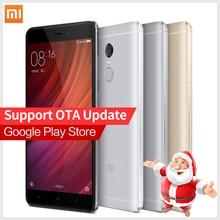 Original Xiaomi Redmi Note 4 Pro Prime 3GB RAM 64GB ROM cellphone MTK Helio X20 10-Core Mi Note4  MIUI8 Fingerprint ID phones
