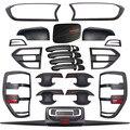 Для Ford Ranger T7 набор для всего тела тюнинг автомобильные аксессуары матовый черный АБС пластик авто Стайлинг Литье аксессуары 2015-2019