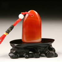 Chinese Seal Stone for painting calligraphy Art Agate stone for art seal stamp