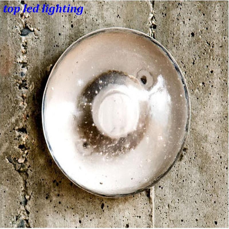 ФОТО Vintage Creative Crystal Bocci Wall Lamps for Living Room Bedroom Aisle Led Bubble Lamp AC 80 265V 1153