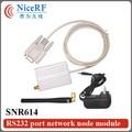 Модуль дистанционного Управления SNR614/433 МГц Network Node Rf-модуль RS232 Порт для Беспроводной Приемопередатчик Данных