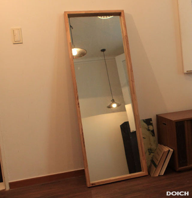dodge full length mirror furniture scandinavian modern style futon frame ash wood frame length mirror dressing mirror dressing m on aliexpresscom alibaba - Wood Frame Full Length Mirror