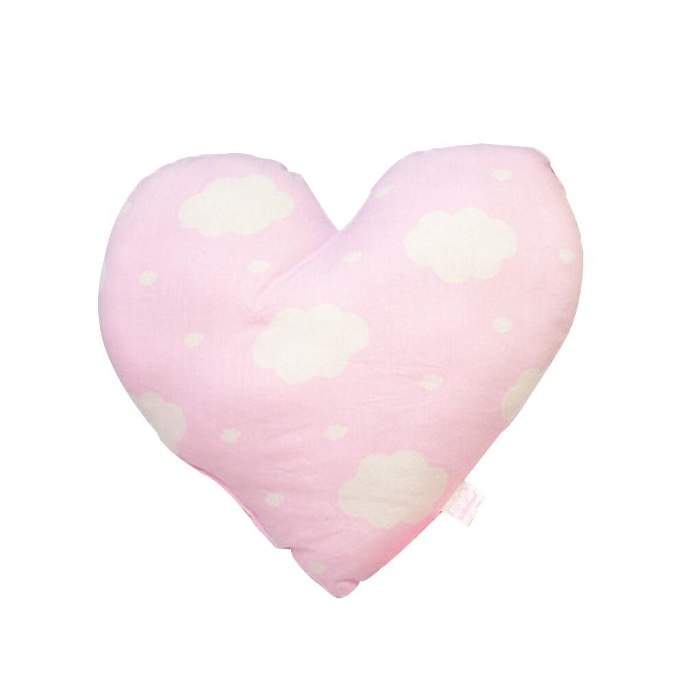 Kształt serca Poduszka dla dziecka Miękka, noworodka Bawełniana - Pościel - Zdjęcie 6