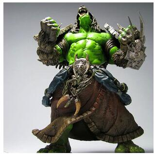 DC Unlimited Series 1 Wow Action Figure 9 inch Orc Shaman Rehgar Earthfury WOW Character PVC Figure Statue DC Unlimited Series 1 Wow Action Figure 9 inch Orc Shaman Rehgar Earthfury WOW Character PVC Figure Statue