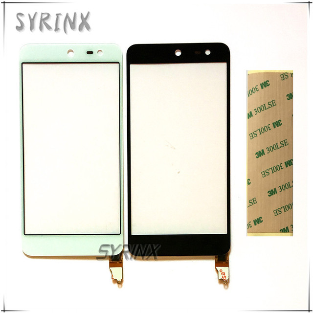 Syrinx + Tape For Wileyfox Swift touch screen digitizer sensor touchscreen mobile phone touch panel front glass free shipping