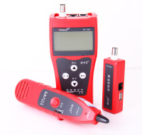 NF 306 Multipurpose Network Cable Wire Finder Tracker Tester RJ45 RJ11 USB BNC Test Tool English Version|version| |  -