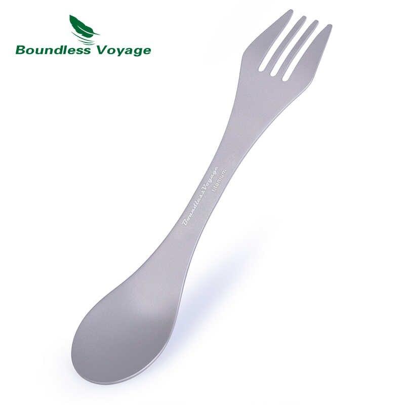 Accessories EDC Outdoor tool Spoon Tableware Cutlery Fork Ultralight Spork