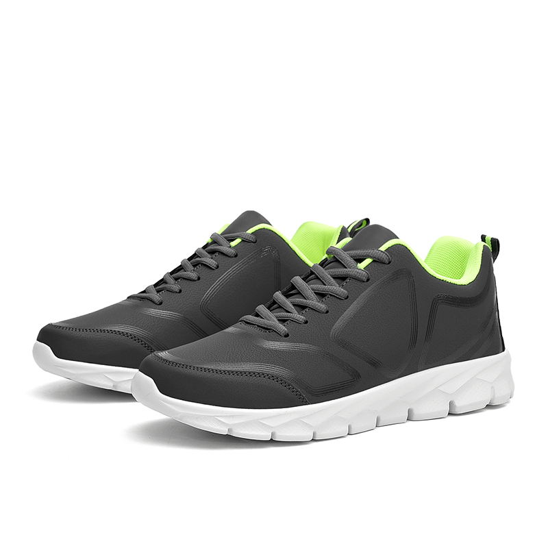 LAISUMK Autumn Winter Men 39 s Walking Shoes Comfortable Shockproof Light Shoes Big size 38 48 Lace up Outdoors Sneakers in Men 39 s Casual Shoes from Shoes