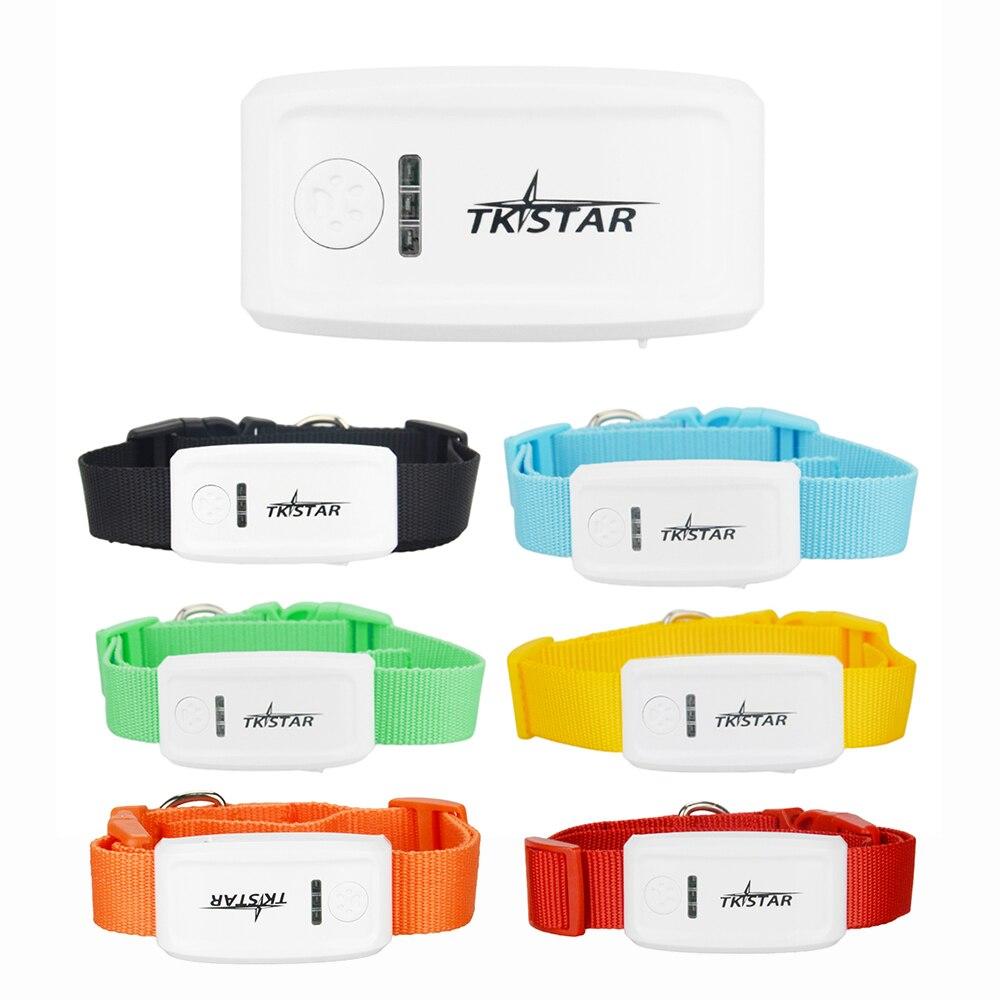TKSTAR GPS personnel et animal de compagnie TrackerTK909 localisateur Global en temps réel pour animaux de compagnie GPS Tracker pour chien/chat GPS collier suivi plate-forme gratuite