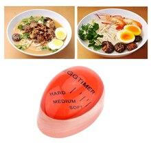 1 шт. яйцо идеальный цвет таймер с изменяющимся вкусным мягким твердым вареным яйцом приготовление кухни Горячий Поиск