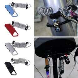 Новый 1 шт Универсальный Анти-Вор мотоцикл велосипед диск колеса код безопасности Комбинации Весна сумка для проводов замок для Для мужчин