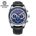 Fashion OCHSTIN Brand Casual Chronograph Sport Man Male Clock Business Military Army Luxury Automatic Wrist Quartz Watch GQ046
