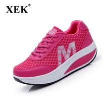 2017 Slimming women running shoes women sneakers Women Platform Fitness Shoes Lady Spring Summmer Fitness shoes #2716
