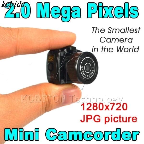 kebidu Mini HD CMOS2.0 Mega Pixel Pocket Video Audio Digital Camera 4pcs Portable 480P DV DVR Camercorder 720P JPG Recorder