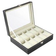 Искусственная кожа часы упаковочные коробки коробка для хранения