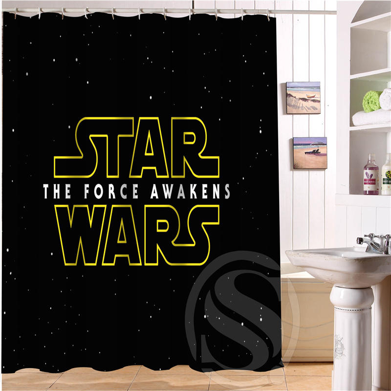Star Wars Personalized Custom Shower Curtain Bath Curtain Waterproof MORE SIZE SQ0515-90